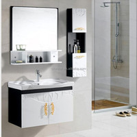 1034 Modern bathroom wall cabinet in bathroom