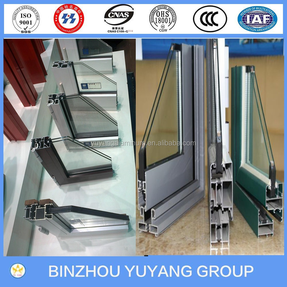 China manufacturer latest design aluminum extrusion profiles for sound-proof winter garden sunlight room