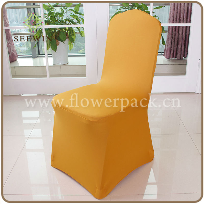 white cheap universal wedding used banquet chair covers