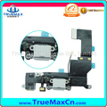 Black White Charger Flex Cable for iPhone 5S