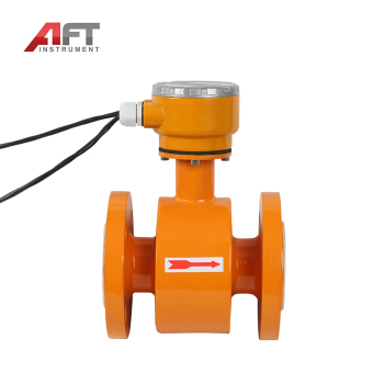 Split type hastelloy electrode acid electromagnetic flow meter