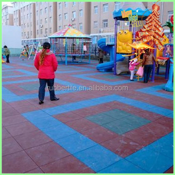 SplendorPlay Children outdoor Playground rubber floor