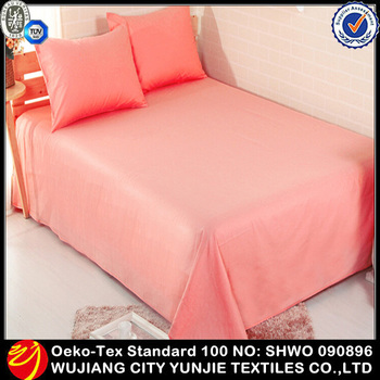 Custom upholstery polyester plain color micro fiber bedding fabric