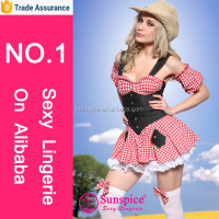 2015 new style top quality sexy cow costume japanese mature women sexy lingerie