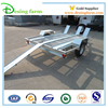 Quality galvanized motorcycle cargo travel trailer for sale