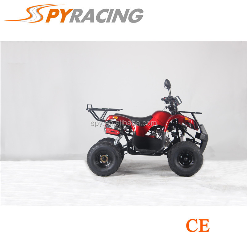2017 Cheap gas four wheelers for krds 4 wheel atv quad bike 110cc