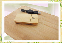 Factory slim wireless mouse, wireless mouse, bamboo mouse