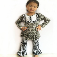 2015 wholesale girls designer clothing kids clothing china supplier for boutique