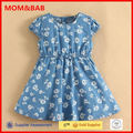 Summer Kids Wear Supplier Wholesale Fashion Dressses for Girls mom and bab Woven Design
