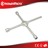 Automobile tire wrench,Multi-purpose function folding cross sleeve wrench
