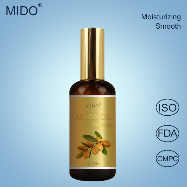 Alibaba Hot Sale OEM Hair Oil Brand Name China Private Label Supplier Glitter Morocco Argan Oil Wholesale Personal Care Products
