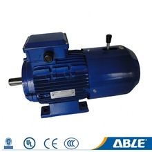 three 3 phase 2hp 5hp electric induction motor 4kw 5.5hp working
