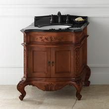 Luxury New 30'' Cherry Bathroom Vanity With Dovetail Drawer