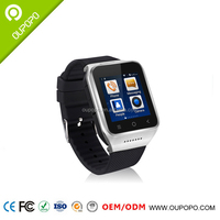 Factory Price China GPS Wrist Big Screen Watch TV Mobile Phone with Video Call