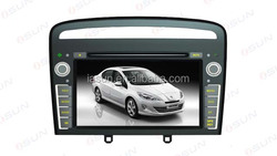 Car parts accessories pioneer touch screen car dvd for peugeot 408 2013 car dvd player gps navigation high quality