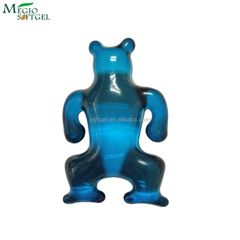 Skin moisturizing lovely bear bath oil beads