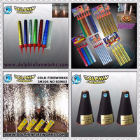 2016 high quality birthday cake candle and cold stage fireworks