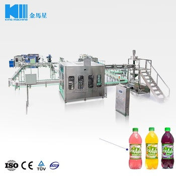 factory direct sale hot filling tea beverage processing filling packing machine