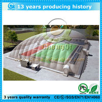 outdoor fun inflatable clear dome tent, inflatable sport dome for sale