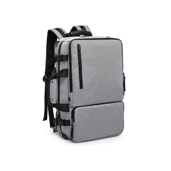 New Product Customized Logo Outdoor College Man Laptop Backpack Multi-functional Waterproof Oxford Backpack Bag