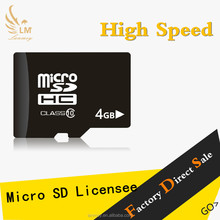 Factory OEM full storage memory card micro sd card 16GB bulk micro SD Card with adapter