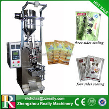 High efficiency automatic 3 and 4 sides sealing small packet packing machine