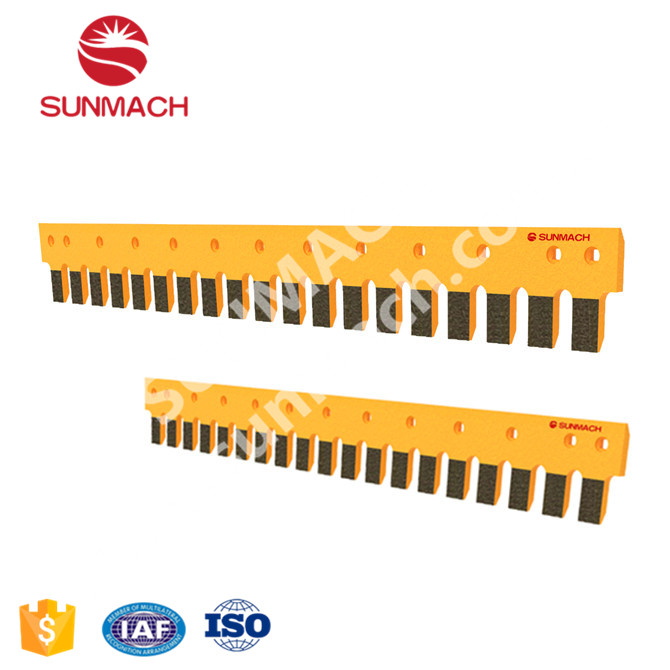 Curved Blades Motor Grader Cutting Edge Wear Parts Sunmach Factory Price Ground Engaging Tools Carbon Steel