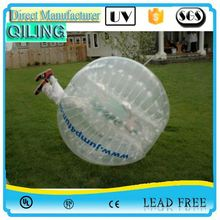 QL Best price transparent TPU wholesale ball pit balls bumper ball for kids