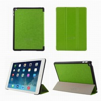 Newest slim smart cover leather case for iPad mini 4