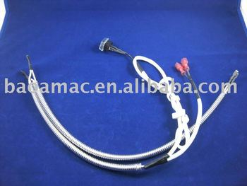 Gas range oven switch harness ignition switch