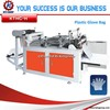 Disposable plastic gloves making machine