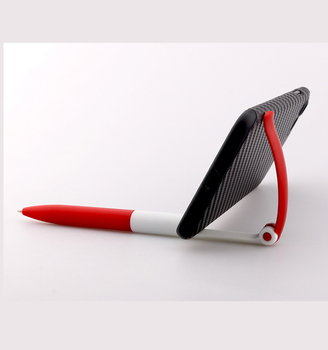 Promotional items china phone stand ball pen with printing logo pen for advertising gifts