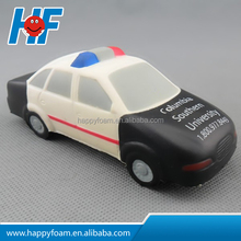 Best Selling Promotional Nice PU Foam Police Car Stress Ball / Custom Anti Stress Ball