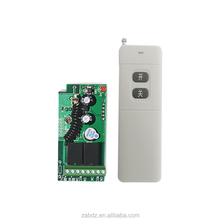 433mhz 3000m 2 keys rf wireless receive switch+wireless 2 keys new case remote control with batteries(ZAB-2PC + ZY21-2)