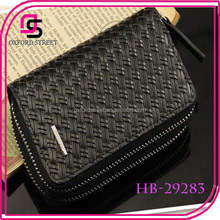 High quality european genuine leather wallet for men yiwu wholesale