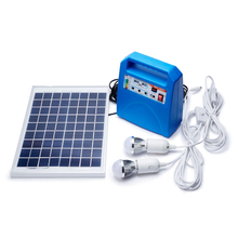 Portable DC Solar Power System for Outdoor Power Supply / Camping / Travelling