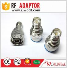 RF Adapter factory price SMA/BNC/F/N/TNC/UHF/RCA adapter rp sma male to n female adapter connector