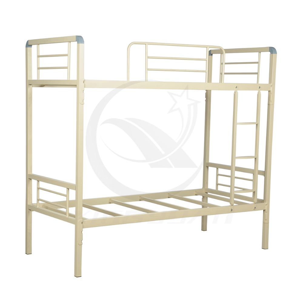 Steel double deck bed - Bed Furniture Bedroom Metal Double Deck Bed Kids Double Deck Bed