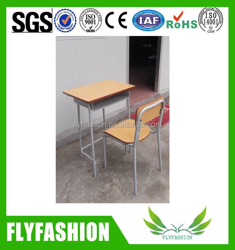 Cheap Single Standard Classroom Desk And Chair