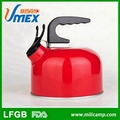 Outdoor hot sale 1.0L kettle aluminum 1.0L kettle