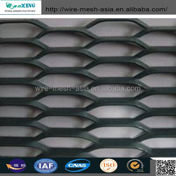 Aluminium Expanded Mesh /Gothic Mesh/Heavy Expanded Metal Mesh (GOOD QUALITY)