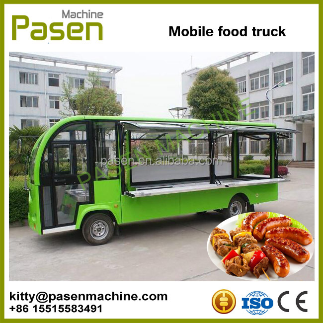 Mobile fryer food cart / mobile food warmer carts / fast food carts