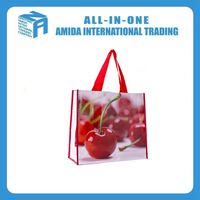 factory made lightweight PP non-woven tote bags