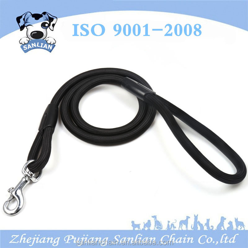 New best selling pet products 2017 solid color nylon rope leash for <strong>dog</strong>