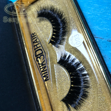 100% Handmade 3D silk Faux Mink Eyelashes Natural Long Thick Strip False lashes Makeup Beauty Tools Black Fake eyelashes