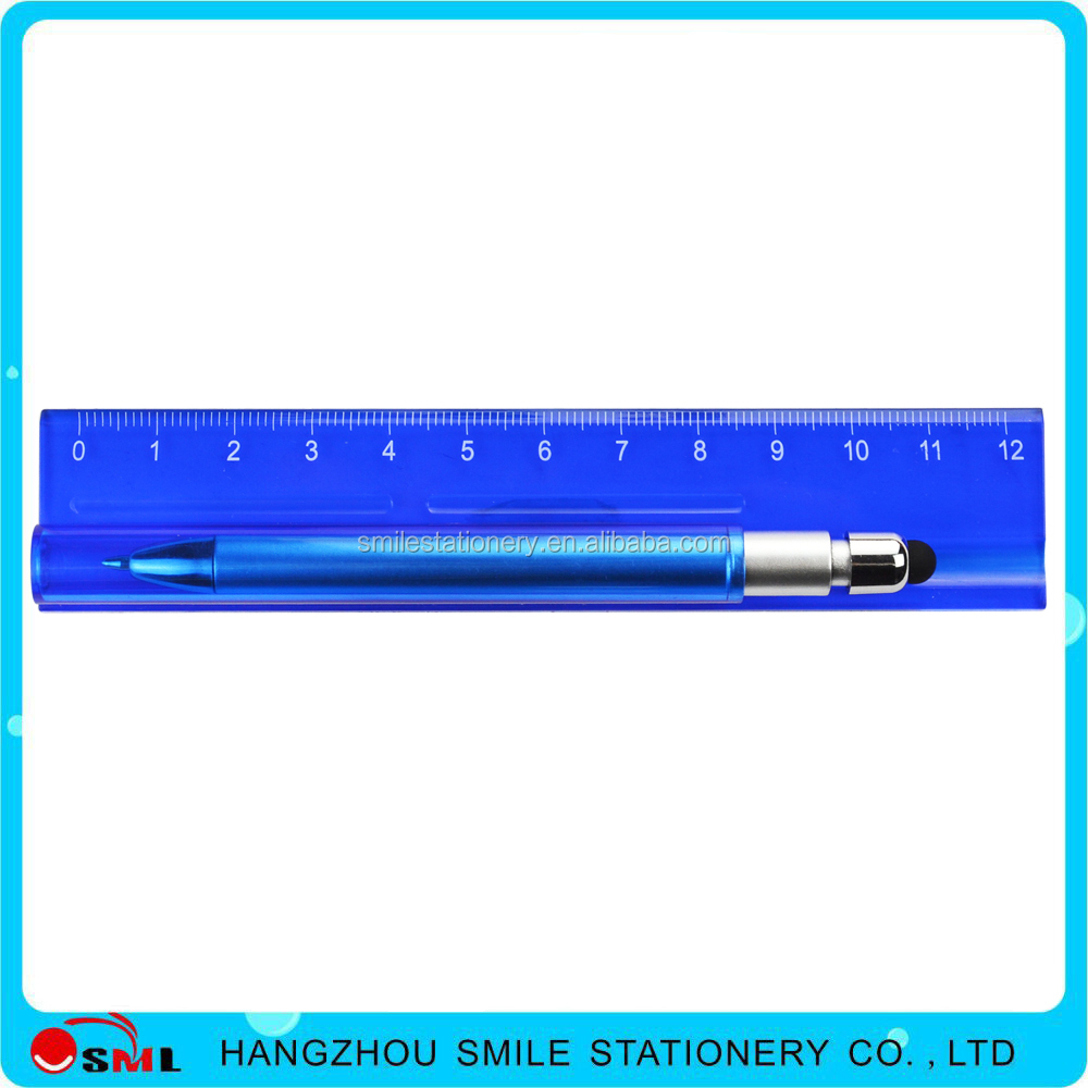 Multifunction Tool Pen / Ruler / Level /Touch Stylus / Ballpoint Pen