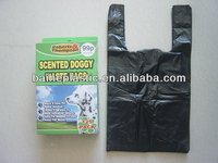 HDPE plastic bags for pet waste poop