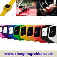 2012 new style athletic man's slap silicone watch band