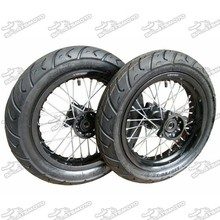 Dirt Pit Bike Motard Wheel With Spoke Aluminum Rim