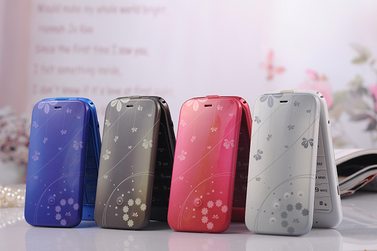 2.4 inch Long Standby Loud Sound Flip Old Man Phone unlocked android cellphone